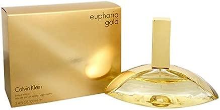 C k Euphoria Gold Women Edp Spray 3.4 OZ. / 100 ML.
