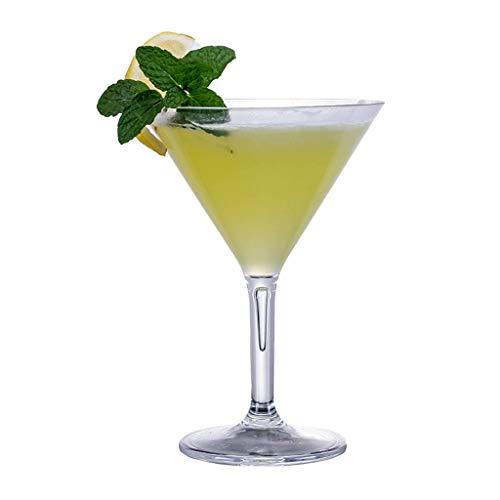 Copa de vino de cristal de 10 onzas, transparente resistente al calor, taza de whisky de champán, taza de jugo para beber (color: tipo 2)
