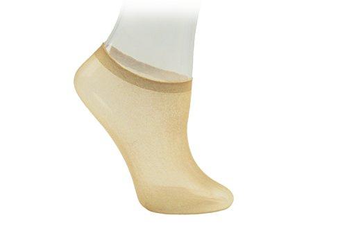Nizario 144 Stück Probiersöckchen Probiersocken Probierstrümpfe in Spendenbox Probe Socken Söckchen