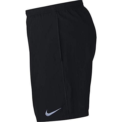 Nike Men's 7' Running Shorts, Sweat Wicking Running Shorts Men Need, Black/Black, M