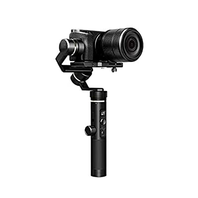 fang zhou 3-Axis Anti-Glare Handheld Stabilizer PTZ Compatible with Gopro Hero, Built-in OLED Screen, Supports Multiple Types of Cameras Up to 800g from fang zhou