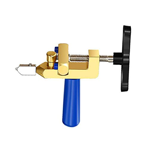Weisin Tile Percussion Tools Roller Type Glass Cutter Kit Einfacher Fliesenbrecher für Spiegelfenster