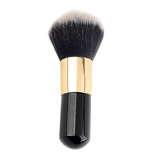Drawihi Kit Pinceau Maquillage Brosse de Fondation Plate Brosse à Maquillage Ronde Tête Pratique 1 Pcs