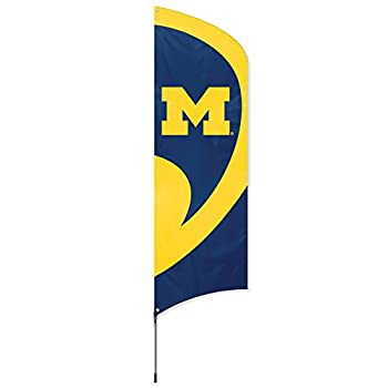 Party Animal NCAA Michigan Wolverines College Tailgating Flag Kit