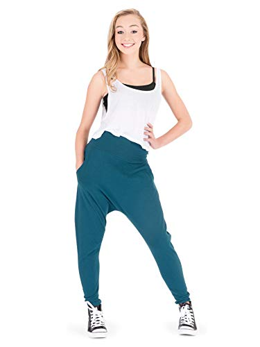 Natalie Dancewear Adult Harem Pants N8639BLKM Black Medium