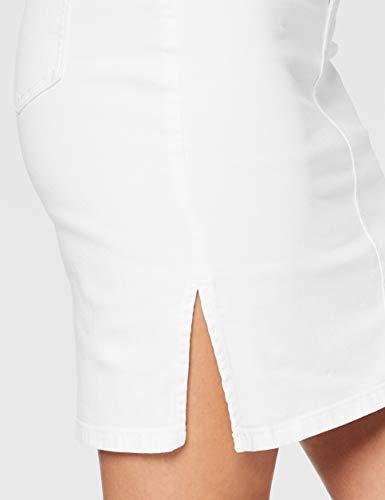 BOSS J90 Elgin Falda, Blanco (Natural 102), Talla Única (Talla del Fabricante: 28) para Mujer