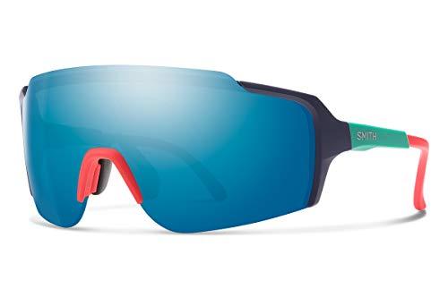Smith Optics Flywheel Sunglasses, Matte deep Ink/chromapop Opal Mirror, One Size
