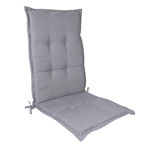 PW TOOLS Garden Chair Cushion Suitable for Most High-Back Garden Chairs, Non-Slip Sponge Core Filling Cushion