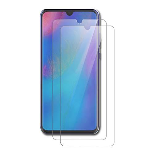 AICEK [2 Pack] Huawei P30 Lite Pellicola Protettiva, Huawei P30 Lite Screen Protector Toccare Pellicola Protettiva in Vetro temperato per Huawei P30 Lite Vetro Trasparenza (6.0 Pollici)