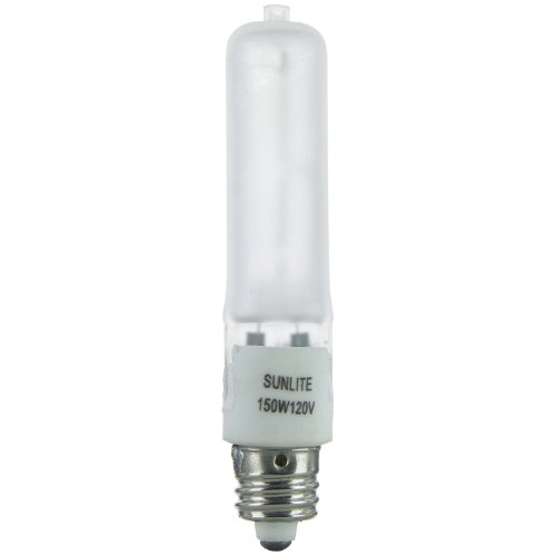 Sunlite 03100-SU Q150/FR/MC 150 Watt, Single Ended T4, Can, 2200 120...