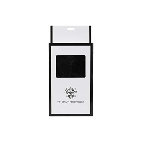 Bjällra Of Sweden 8069903 Estiliza tu cochecito con un lujoso saco de dormir – Black size S, negro, 270 g