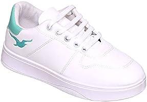 حذاء كاجوال للنساء من تيستا تورو 41 EU , ابيض اخضر