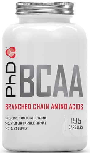 PhD Nutrition BCAA's, 195 Capsules