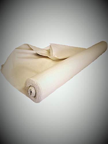 Tessuto per Tende da Sole Esterno Idrorepellente a Metraggio1Metro Stoffa Tenda Tinta Unita Tessuti Ultima Generazione Gazebo Balcone Camper Tendalino Pergolato (170 CM Altezza)