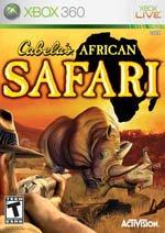 Activision Cabela's African Safari, Xbox 360