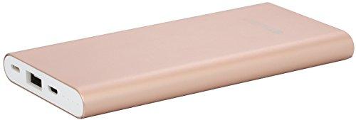 StilGut Power Bank UltraSlim, Lithium-Polymer Akku mit Lightning und Micro-USB Anschluss, 8.000 mAH, rosé gold