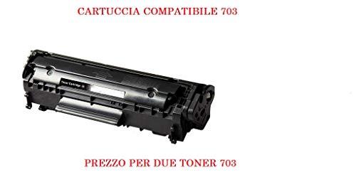 Outlet della Stampa X 2 Toner compatibili per stampanti Canon Lasershot LBP-2900 LBP-3000 Canon I-SENSYS LBP-2900 LBP-2900i LBP-2900b LBP-3000 LBP-2900 LBP-3000