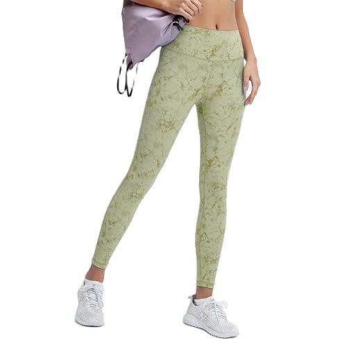 QTJY Pantalones de Yoga sin Costuras para Mujer, Push-ups, Celulitis, Ejercicio, Gimnasio, Pantalones de Yoga, Cintura Alta, Estiramiento, Ejercicio, Pantalones para Correr, F M
