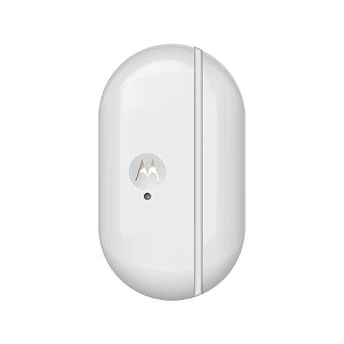 Motorola Smart Nursery Alert Sensor - Wi-Fi sensore per porte e finestre con allarmi, bianco