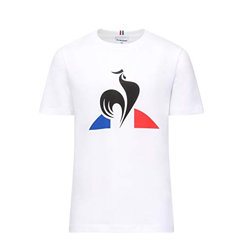 Le Coq Sportif ESS tee SS N°2 Enfant New Optical White Camiseta,...