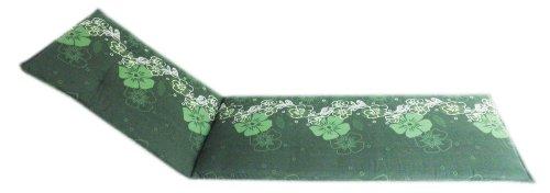 Gartenstuhl-Kissen Cojín Almohada césped del jardín Motivo Floral en Varios Tonos Verdes