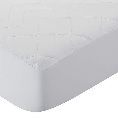 Pikolin Home - Cubrecolchón acolchado, antialérgico-antiácaros, impermeable. 140x190/200cm-Cama de 140