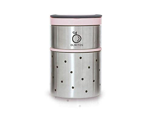 olmitos – thermos Solido Dots Taupe
