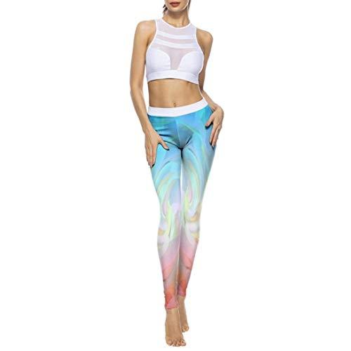 Leggings dames vrijetijdsbroek sportbroek joggingbroek yoga broek meisjes fietsbroek lange broek training slim fit broek panty gymnastiek broek 3D print broek