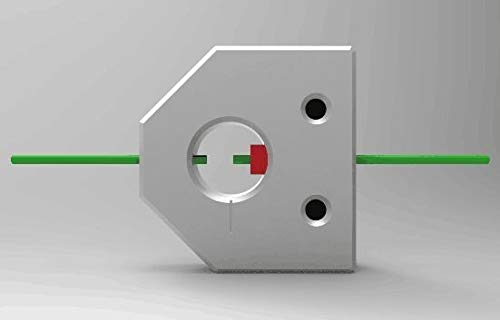 WNJ-TOOL, 1pc 3D-Drucker Glühfaden Welder-Anschluss Verbrauchsmaterial Steckverbinder Breakout Verbindungsstück-Material Breakout-Draht-Verbindungs (Größe : 1.75mm)