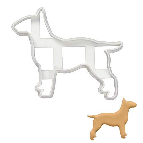 English Bull Terrier Silhouette cookie cutter, 1 piece - Bakerlogy