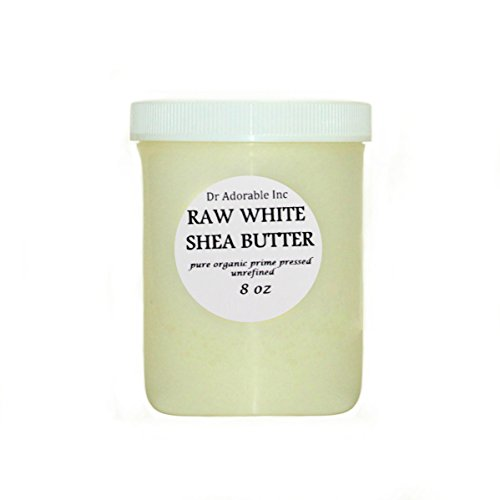 Premium High Quality Shea Butter WHITE Unrefined Raw Organic 8 Oz