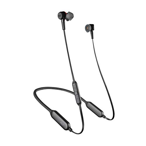 Plantronics BackBeat GO 410 Wireless Headphones, Active Noise Canceling Earbuds, Graphite