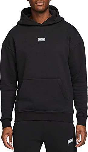 NIKE M NK FC Fleece Hoodie Sweatshirt, Black/Black/(Clear), Mens