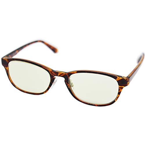 (エイトトウキョウ)eight tokyo 老眼鏡 ブルーライトカット おしゃれ メンズ レディース 兼用 かわいい 2.0 UVカット シニアグラス リーディンググラス[ 鯖江メーカー企画 ]べっ甲/ライトグリーン RD5118-2+2.0