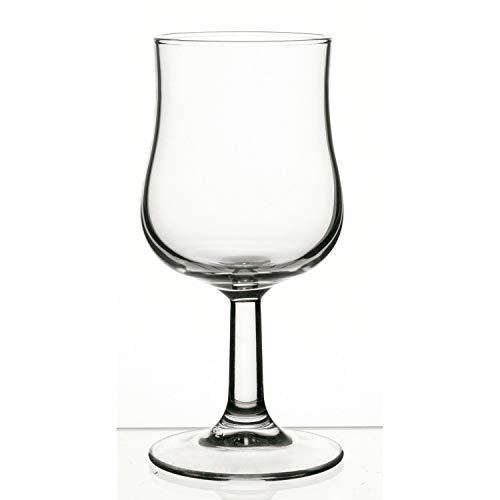 Arcoroc Lira-Set 6 copas vino de vidrio tensionado 16cl, Único