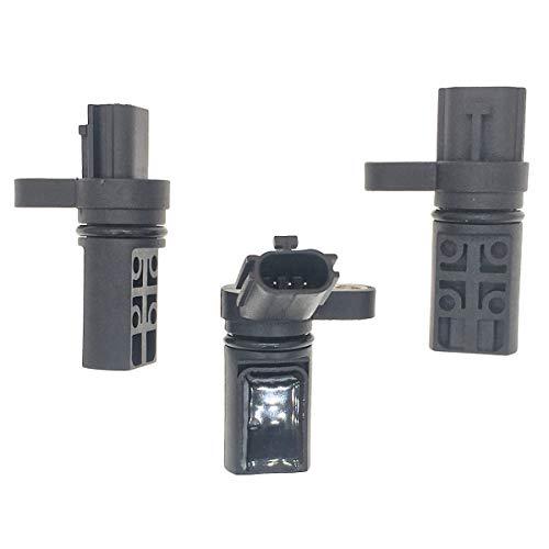 3Pcs CPS Camshaft Crankshaft Position Sensor Kit 23730-AL60A + 23731-AL60C + 23731-6J90B Compatible With Nissan Infiniti FX35 G35 I35 M35