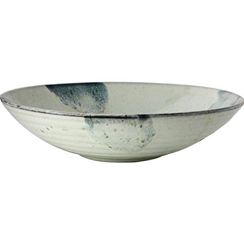 ShiSyan Placas sopa de ostras placas snack Dip platos de sopa cuencos Vajilla plato hondo de cerámica bandeja de pastas placa creativo estilo occidental vajilla Home Plate sopa occidental placa Vajill