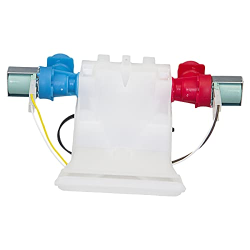 W10144820 Rev b Washer Water Inlet Valve With Thermistor for Whirlpool Kenmore Maytag Washers WPW10144820 AP6015761 1480998 AP4371093 PS2347919