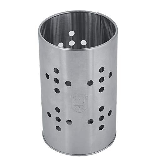 WolfGo Soporte para Palillos - Multifunción de Acero Inoxidable Palillos Jaula Cuchara Cubiertos Caja de Almacenamiento Soporte Estante Cocina