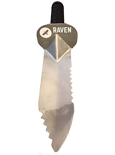 Raven Metal Detecting Digging Spade/Trowel/Tool with Serrated...