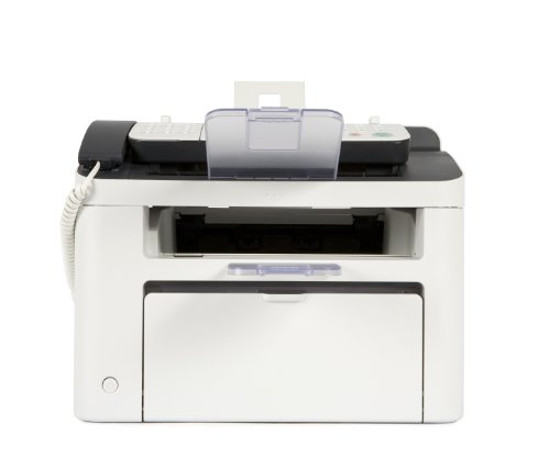 Canon FAXPHONE L100 Laser Fax Machine, Copy/Fax/Print - White (CNM5258B001)