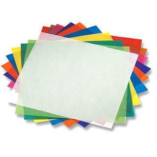 Faltblätter Transparentpapier, 10x10cm, 500 Stück, - CFO825-1010