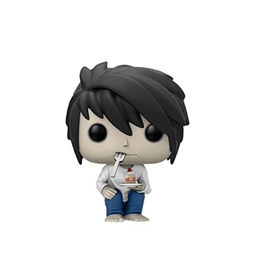 Good Buy Funko Pop Animation : Death Note - L (with Cake) 3.75inch Vinyl Gift for Anime Fans Figure