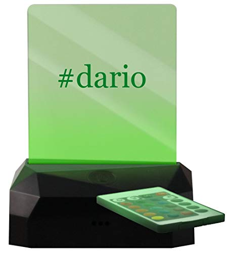 #Dario - Hashtag LED Rechargeable USB Edge Lit Sign