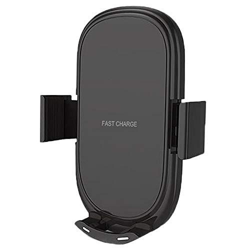 Shiwaki Cargador Inalámbrico para Coche Soporte Rápido para Teléfono con Almohadilla de Carga Qi para Universal