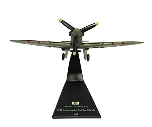 Spitfire Mk Vb Fighter Aircraft diecast 1:72 Model (Amercom SL-3)