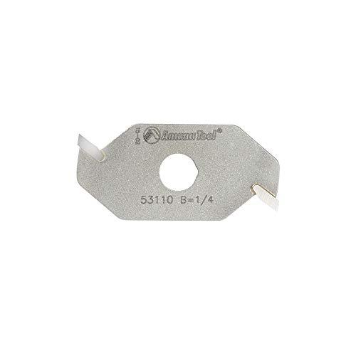 Amana Tool - 53110 Slotting Cutter 2 Wing x 1-7/8 Dia x 1/4 x 5/16 Inner Dia