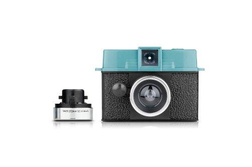 Lomography Diana Baby 110 + 12mm Lens Compact Film Camera 110 mm Negro, Azul - Cámara (Compact Film Camera, 110 mm, 1 m, Mecánico, 1/100, Negro, Azul)