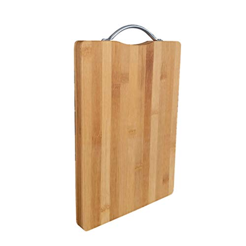 Conveniente Tabla de Cortar Hogar Junta de Bambú Tabla de Cortar de la Cocina de Puerro de la Junta de Corte Rectangular de Carne de