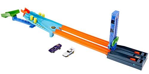 Hot Wheels Spy Racers Velozes e Furiosos Pista de Desafios, Inclui 2 Veículos, Mattel
